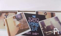 Taylor Swift 1989 VIP Lithographs Brand New From Taylor