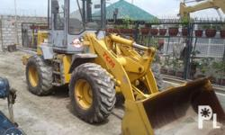 **** TCM E830 Wheel Loader **** with cabin and bucket