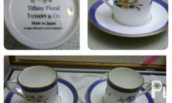 Brand new. Demitasse, Tiffany and Co. Made in Japan.