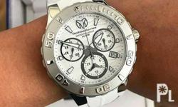 Technomarine Medusa On Hand Silver White Chrono