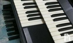 For sale my technics sx-ex5 double keyboard with pedal,