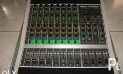 TEISCO 8Ch Mixer MX850DX with Carrrying Case. For