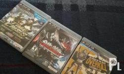 Selling the following games as bundle only RUSH! For