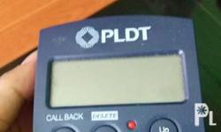 not use telephone and caller id..bawas kalat..