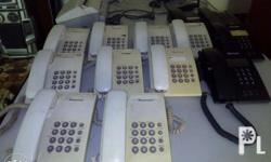 Color black or white telephone unit for sale.