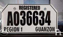We make temporary plates for Motorcycles, Cars and all