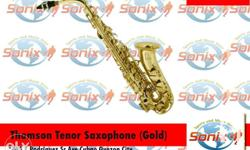 Tenor Saxophone Body and Neck Material: Yellow brass