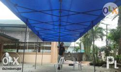 imported all-steel frame and posts, powder coated steel
