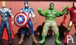 The Avengers Set Hasbro, 2012 Loose. Good condition.