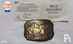 "The Historic Providence Mint 1987 "" WILD MUSTANGS """