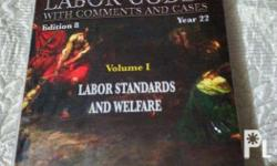 The Labor Code Book 1 by Azucena. 2013 Edition. With