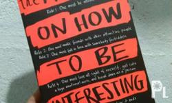 The Manifesto on How To Be Interesting By: Holley