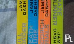 For Sale : THE MAZE RUNNER SERIES Book 1-4 brand new