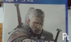 For sale Ps4 games The witcher 3 wildhunt All mint