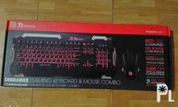 For Sale Thermaltake Gaming Keyboard and Mouse Combo