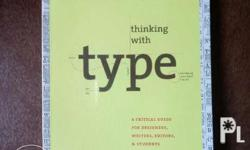Graphic design/typography book I purchased in Amazon.