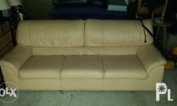 This is a well looked after couch. Reason for sale is