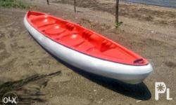 Kayak Made of highly durable fiberglass material