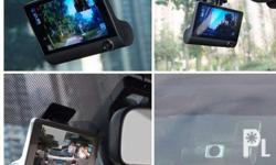 3 way dash cam Front Mid Back Specs Reverse cam Full hd