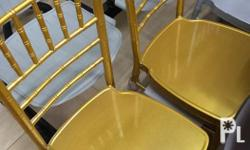 We have Gold and silver color Tiffany chair. Good for