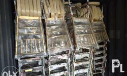 Crystal tiffany chairs 4500 Metal tiffany chairs 700