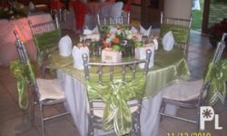 Silver Banquet Tiffany Chairs for Rent @ Php 80 per