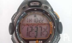 Timex watch Shock proof Indiglo Alarm Timer Calendar In