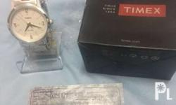 Timex TW00T105E Authentic WR 30 meters Stainless steel