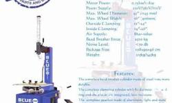 Tire Changer Wheel balancer Blue chip Please see image