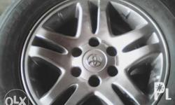 Fortuner mags and tires 4pcs 15,000 only call this