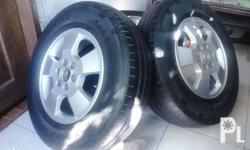 Original Nissan navarra mags with tires size 16