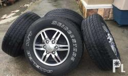 Tires with Mags, 4 pieces. Top condition, Used by top