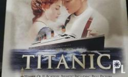 Titanic Vhs collectors edition The longest day-colored
