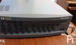 The VM-2240 is a multifunctional amplifier that can be