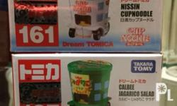 Tomica Nissin Cup NPhilippineslisted and Calbee