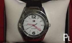 Authentic Tommy Hilfiger Watch With Tag Price and box