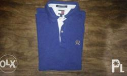 Tommy Hilfiger Polo Shirt Price: Php300.00 Color: Royal