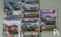 5 top gear ph magazine for P300 In very good condition