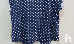 Size crop cache cache- Small Old Navy raffles top