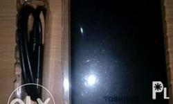 Toshiba external hdd 1tb almost brand new, rfs may bago