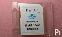 Toshiba FlashAir 16Gb Used only couple of times for a