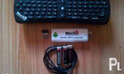 = with Internet TV converter device = complete box with
