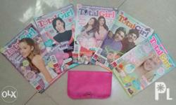 Selling my back issues of Total Girl for 150 php with