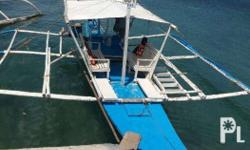 3 year-old Tourist boat in Coron for SALE. Marina