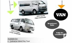 Looking for a TOURIST VAN in Guimaras Island? OV Car