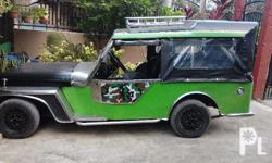 im selling my preloved jeepy car with new paint, new