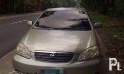 2007 toyota altis 1.6 E 1.6 vvti engine manual