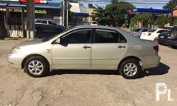 Selling my Toyota corolla altis 2006 model 1.6 gas