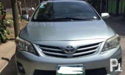 Selling personal use Toyota Altis 1.6V (top of the