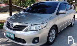 for sale toyota altis E 2012 model manual 6 speed